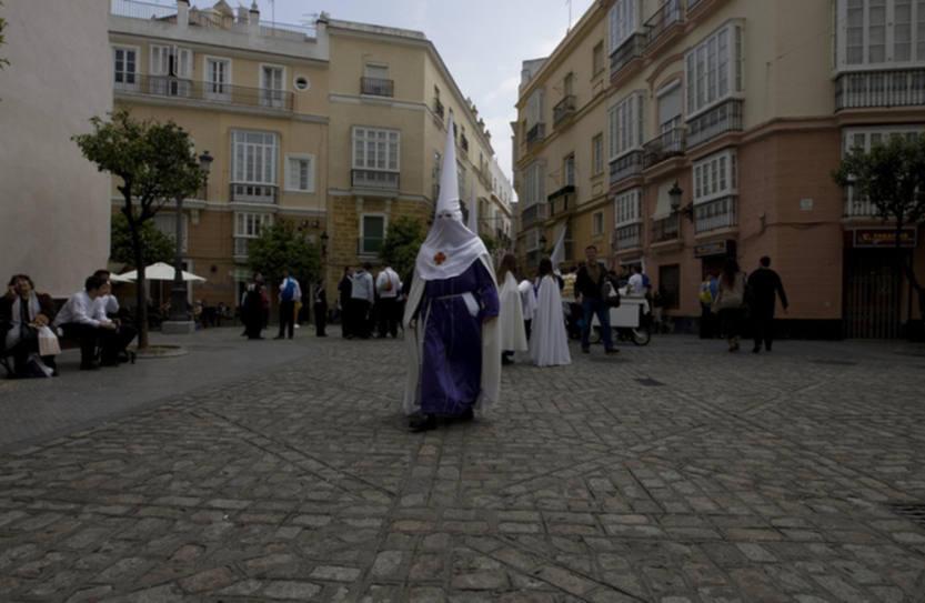 Nazareno del Amor en la Semana Santa de Cádiz 2012