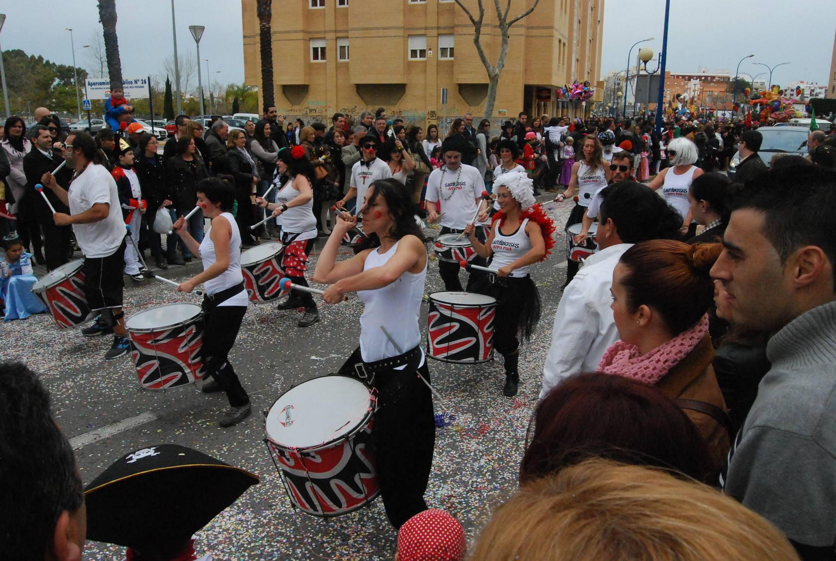 Cabalgata de carnaval en San Fernando