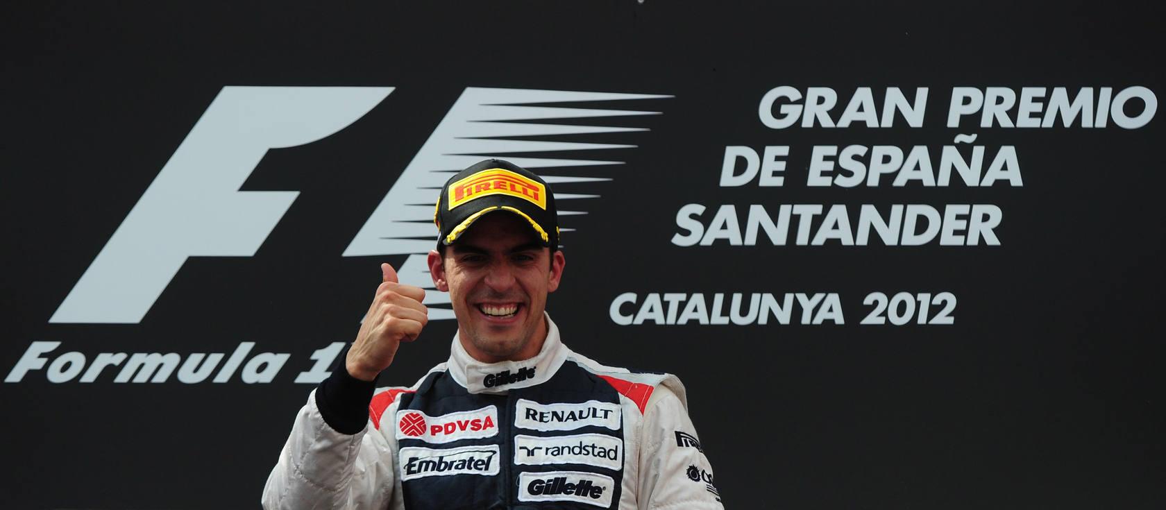 Alonso termina por detrás de Maldonado en Montmeló