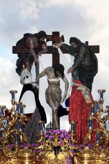 Procesión de La Soledad en la Semana Santa de Jerez 2012