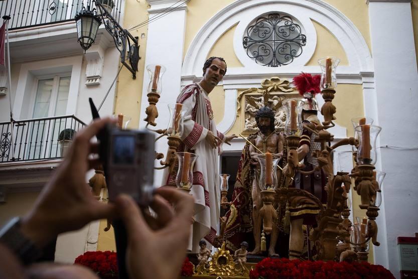 Procesión de Ecce Homo en la Semana Santa de Cádiz 2012