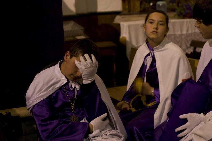 Nazareno en la Semana Santa de Cádiz 2012