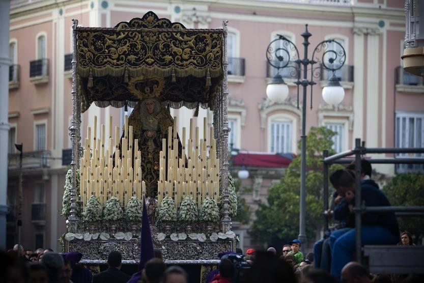 La Columna en la Semana Santa de Cádiz 2012