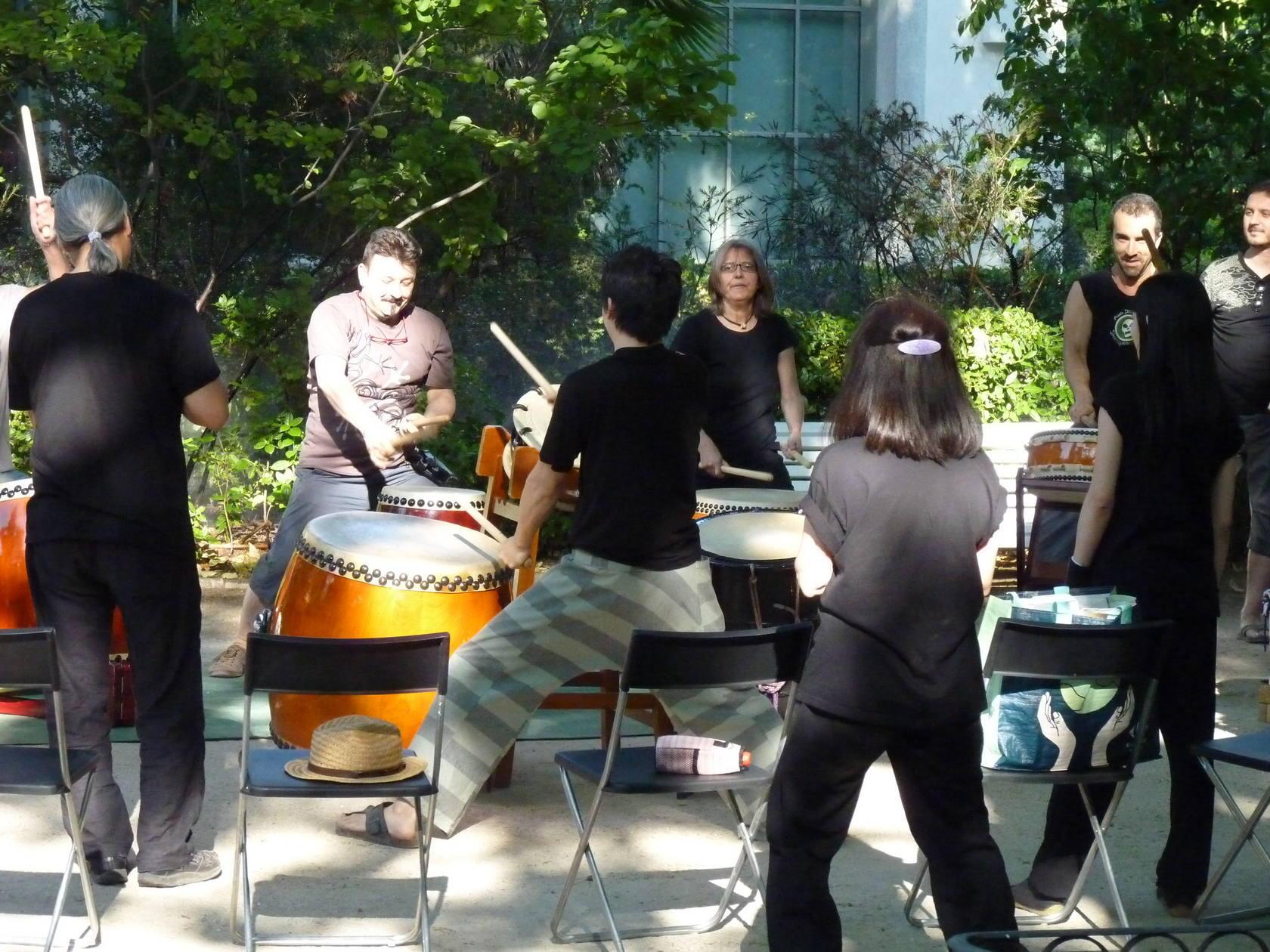 Taller y concierto del maestro de tambores 'taiko' Keita Kanazashi