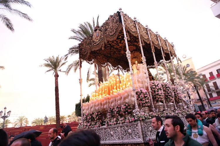 Procesión de la Yedra. Semana Santa de Jerez 2012