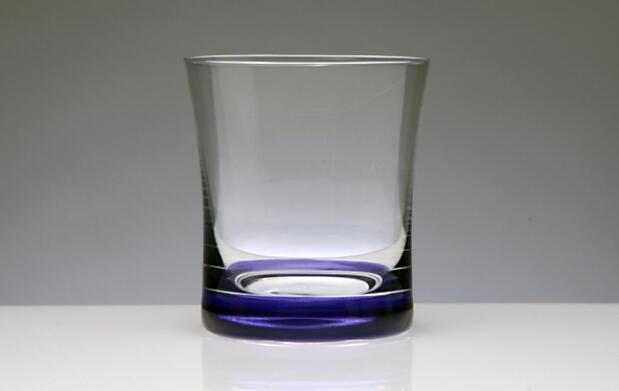 Juego de seis vasos azul cobalto