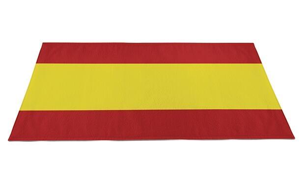 Toalla bandera de España
