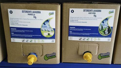 15 kg de detergente líquido libre de parabenos