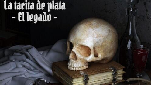 """""""La Tacita de Plata - El legado"""" juego de escape room"""
