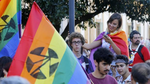 La primera marcha LGTB, en imágenes