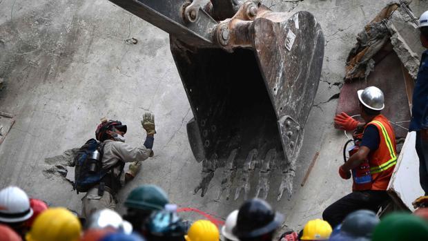 Las increíbles labores de rescates en el terremoto de México