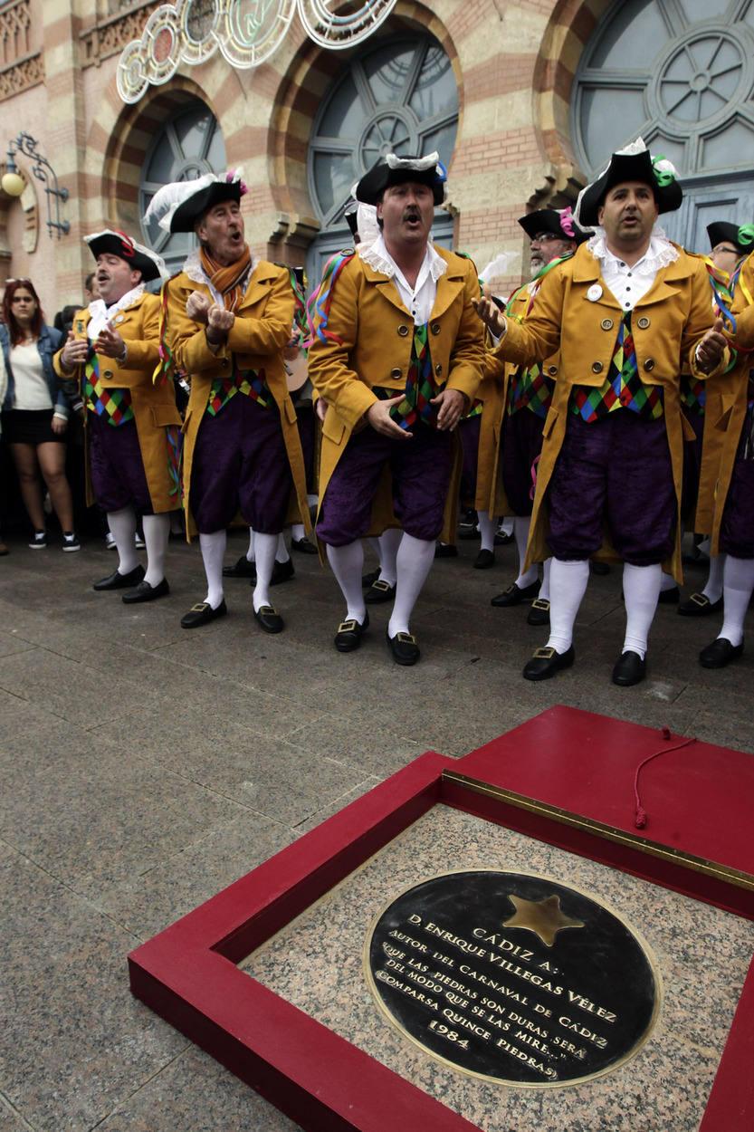 Inauguración del paseo de la fama del Carnaval
