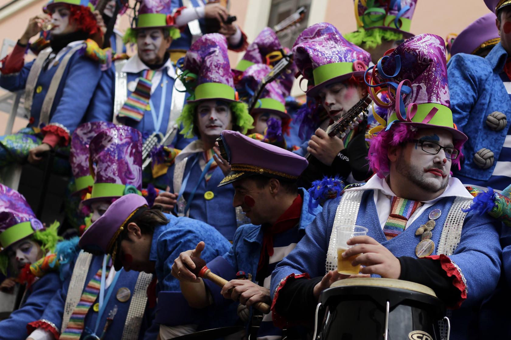 Carrusel de coros en el Mentidero - Segundo fin de semana de Carnaval 2013