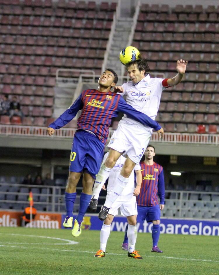 Barcelona B 2-0 Xerez CD