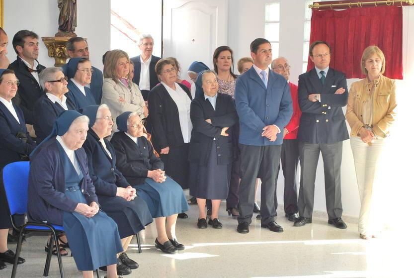 Inauguración de los nuevos salones de Cáritas San Rafael en Jerez