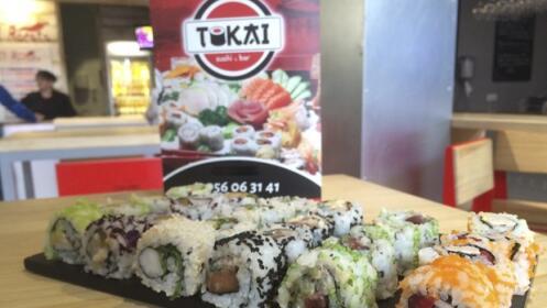 Bandeja de sushi para 2 con 20 piezas