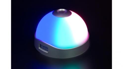 Reloj despertador LED con proyector