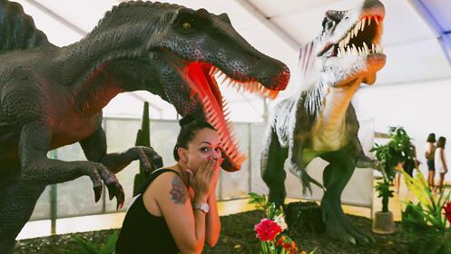 Exposición Dinosaurs Tour ¡Dinosaurios a tamaño real!