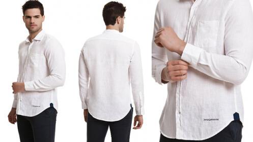 Camisa manga larga Javier Larrainzar