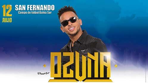 Entradas concierto Ozuna en San Fernando