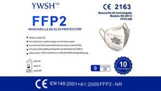 Pack de 20 mascarillas FFP2