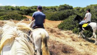 Ruta Coto La Isleta a caballo