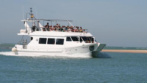 Excursión en catamarán por Chiclana