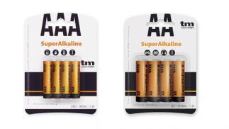 Pack de 32 pilas alcalinas AA o AAA