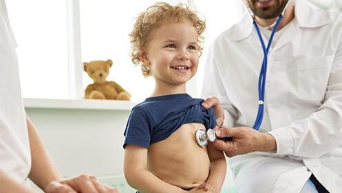 Consulta de pediatría