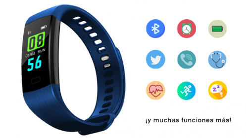 Pulsera Deportiva Bluetooth cRadia Y5