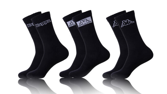 Pack 12 pares de calcetines Kappa