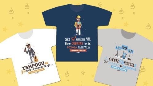 Camisetas del Carnaval de Cádiz